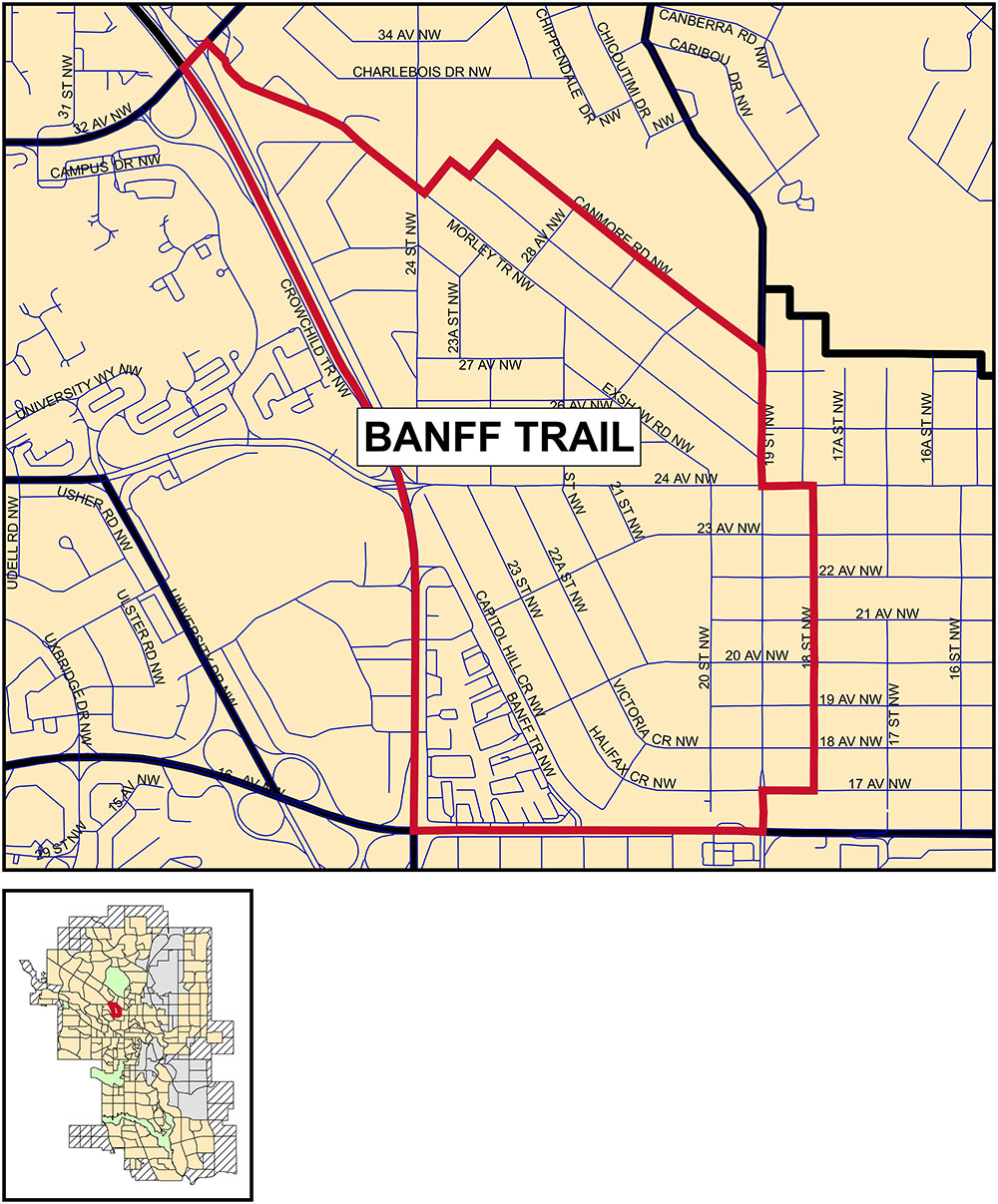 Banff Trail community profile