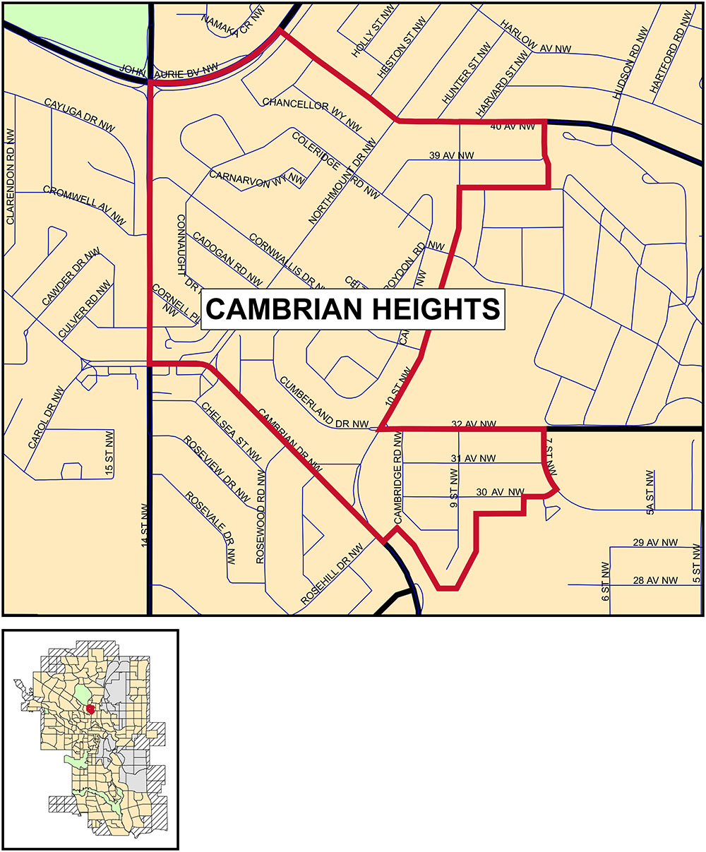 Cambrian Heights community profile