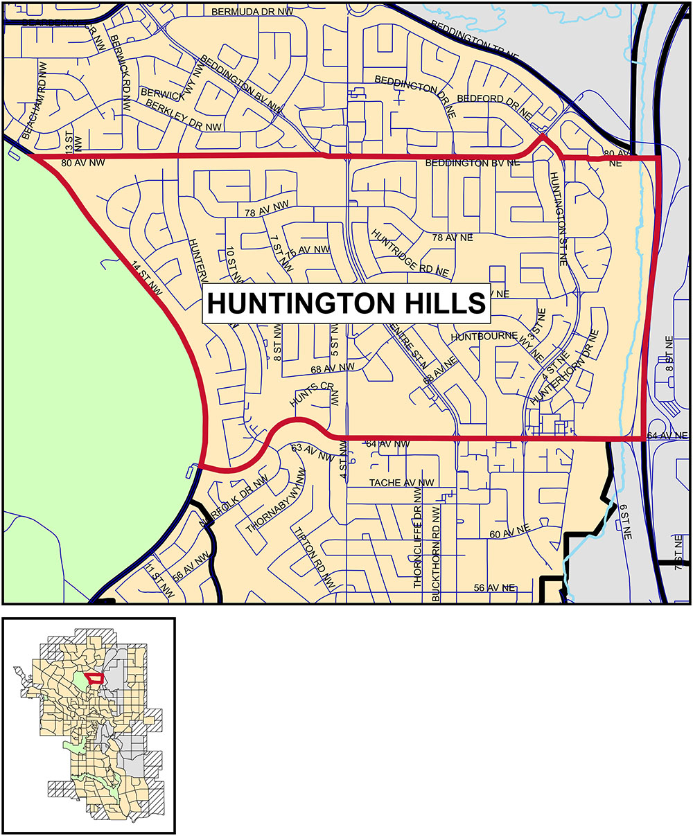 Huntington Hills community profile