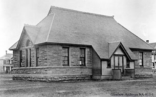 historic photo of Haultain School