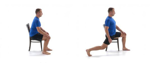 front hip stretch