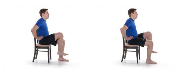 seated hip lifts