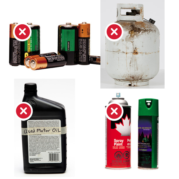 Household Hazardous Waste NO