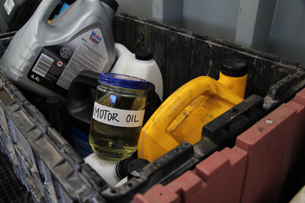Old chemicals can be processed safely