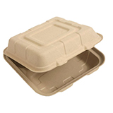 Compostable takeout food containers